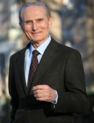 CENACOLO CON Dominick Salvatore preside della facolta' di economia della fordham university of new york
