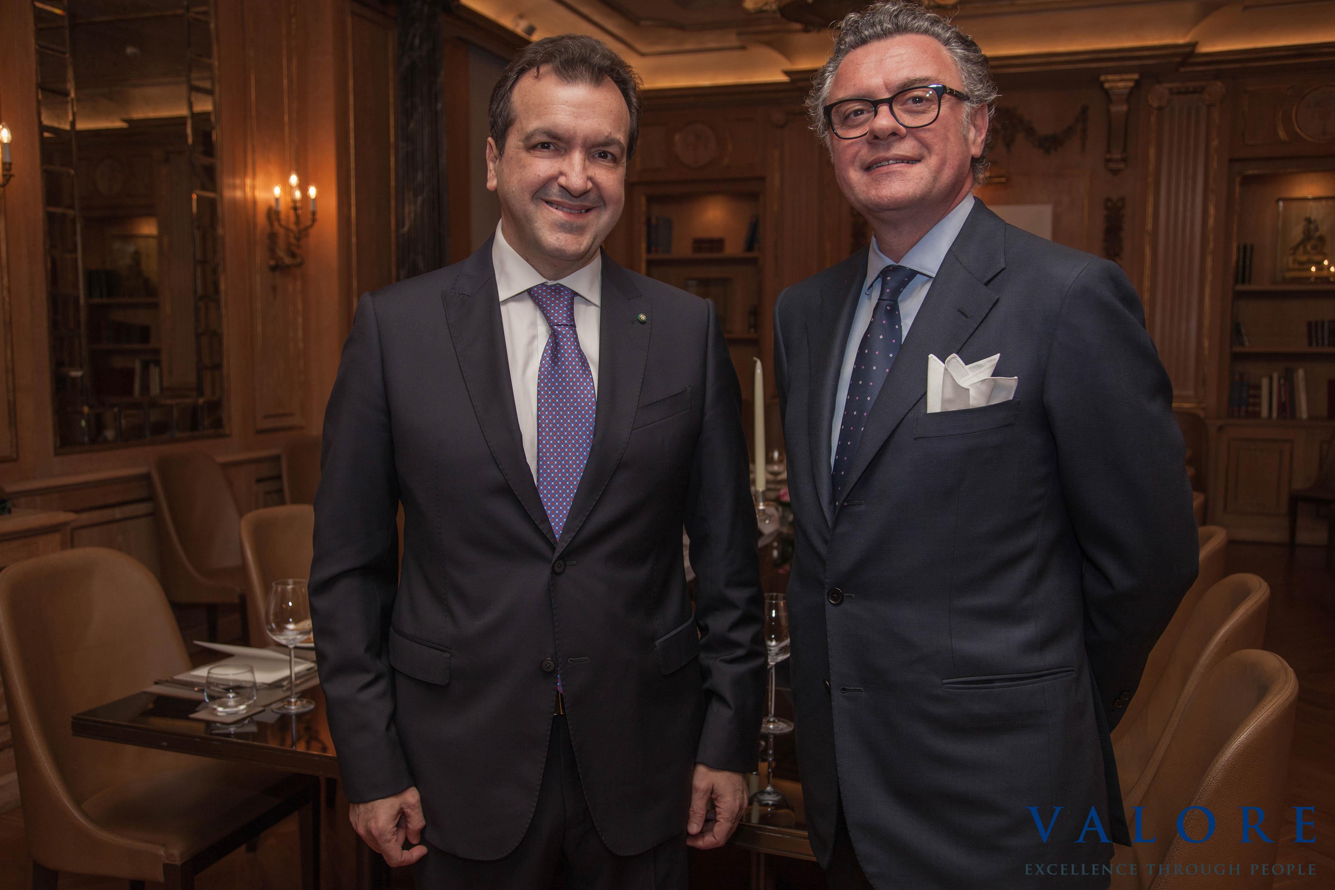 Cenacolo con Sergio Albarelli CEO di Azimut Holding