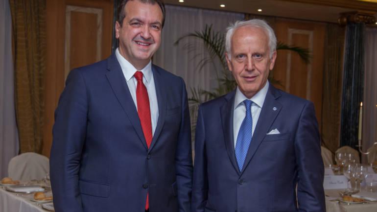 Cenacolo con Giovanni Pirovano Vice Presidente Banca Mediolanum