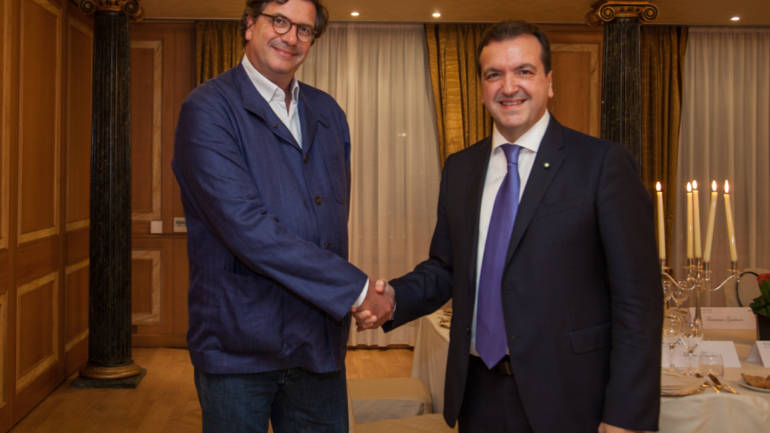 Cenacolo con Carlo d'Asaro Biondo Presidente EMEA di Google