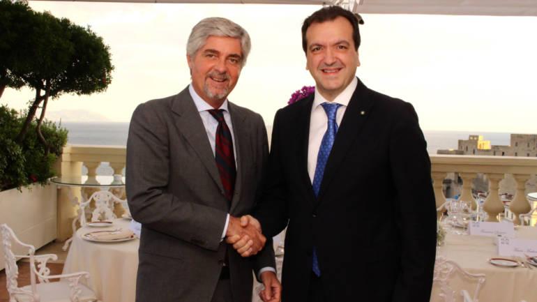 Cenacolo con Mario Mattioli Presidente di Confitarma