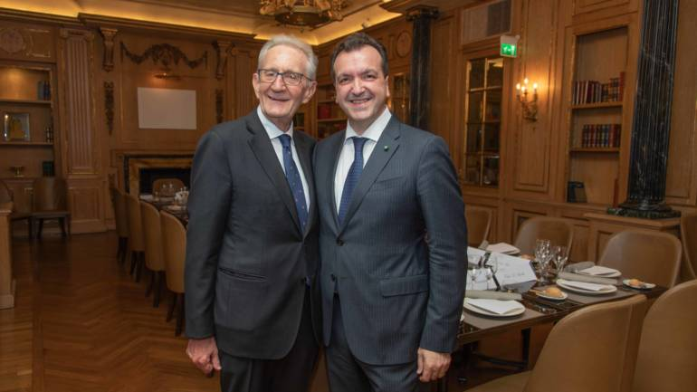 Cenacolo con Beppe Ghisolfi Vice Presidente ABI (Associazione Italiana Bancaria)