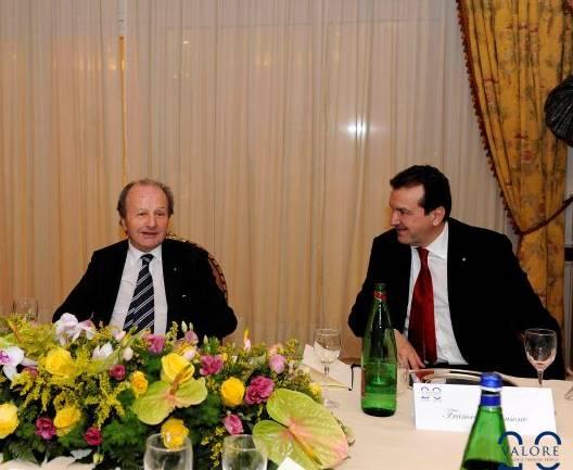 Cenacolo con Ettore Sansavini Presidente GVM (Gruppo Villa Maria) Care & Research