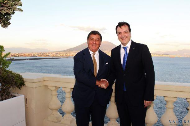 Cenacolo con Carlo Pontecorvo Presidente Ferrarelle