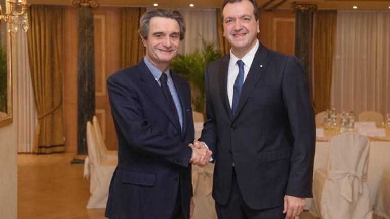 Cenacolo con Attilio Fontana Presidente Regione Lombardia