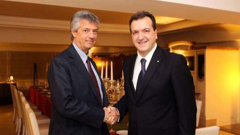 Cenacolo con Vito Grassi Presidente Unione Industriale di Napoli