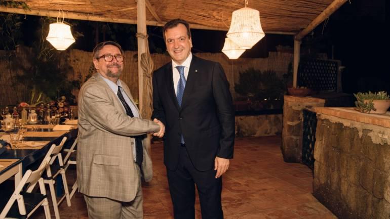 Cenacolo con Pietro Spirito Presidente Autorità di Sistema Portuale del Mar Tirreno Centrale