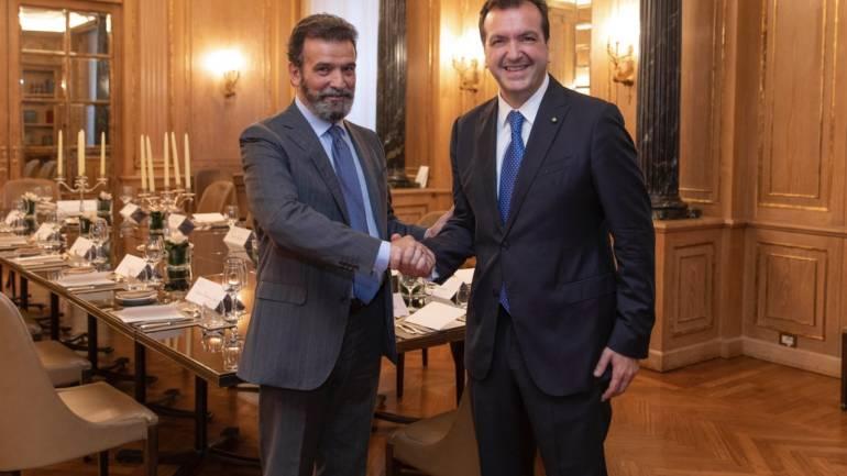 Cenacolo con Giuseppe Sopranzetti Direttore Sede di Milano di Banca d'Italia